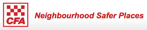 CFA Neighbourhood Safer Places logo